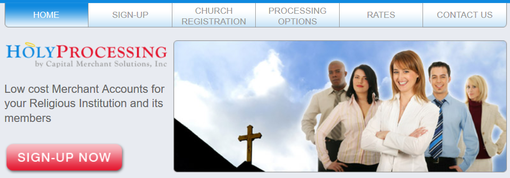 Holy Processing homepage