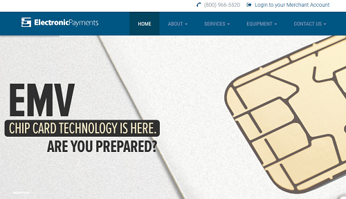 Electronic Payments homepage