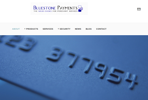 Bluestone Payments homepage