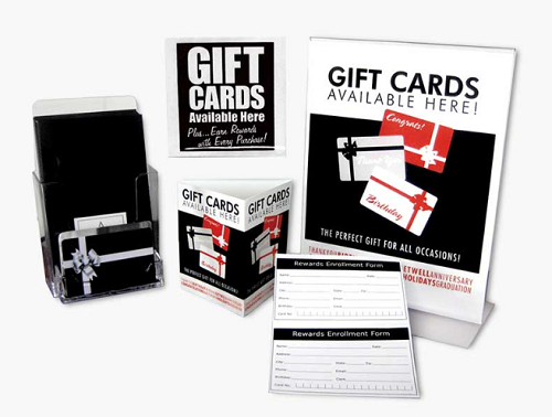 Mainstream gift cards
