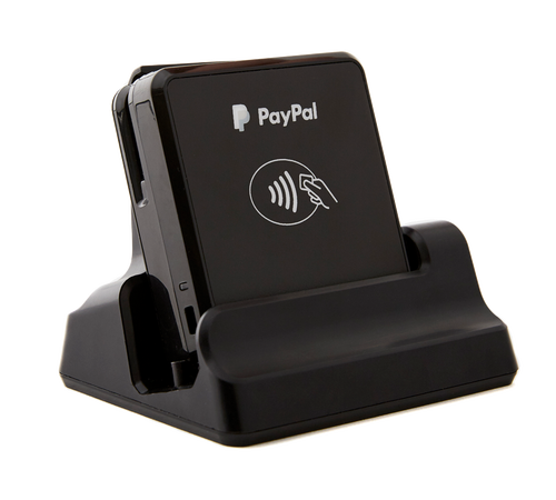 PayPal chip reader nfc