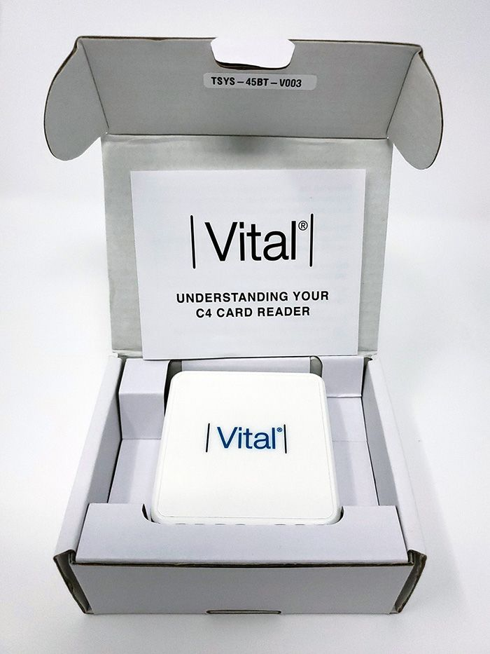 Vital Mobile reader in box