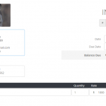 Invoiced Lite invoice template example