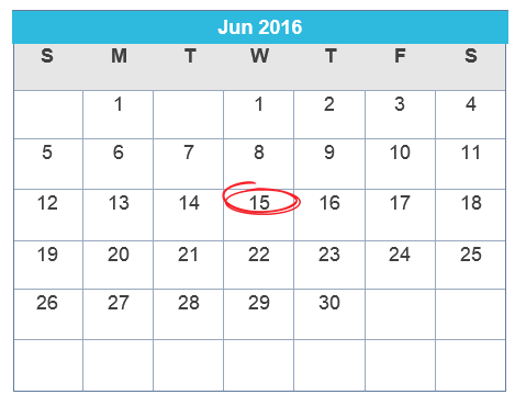 recurring billing calendar