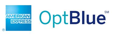 American Express OptBlue logo