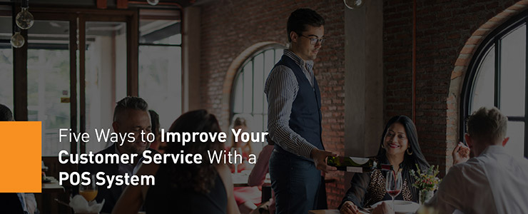 improve customer services header