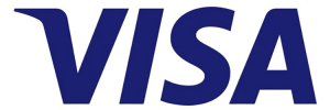 Visa logo commercial CNP