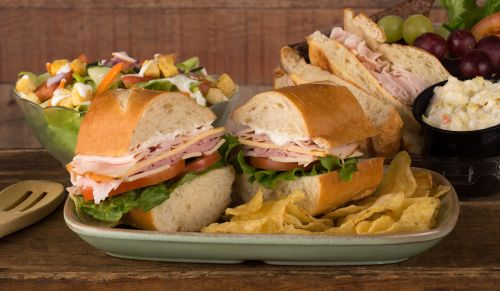 Best Box Lunches sandwich