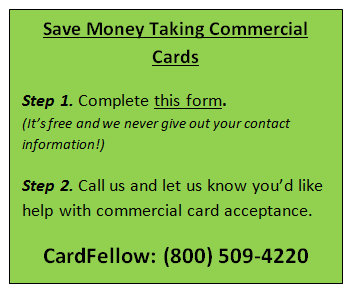 CardFellow commercial credit card help