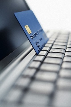 online transaction with credit card
