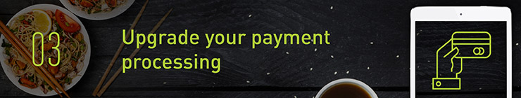 upgrade payment processing