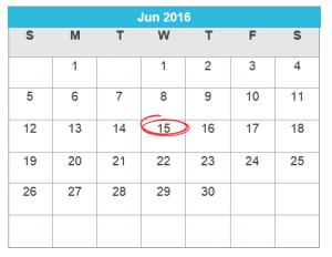 recurring billing calendar