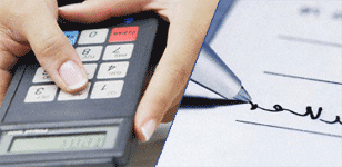 Using a pin pad for debit purchase