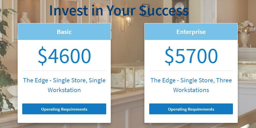 The Edge POS pricing