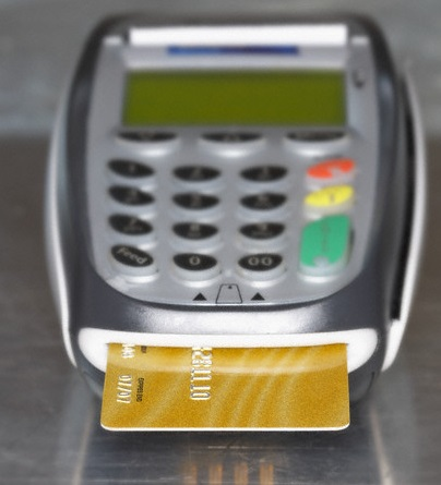 EMV chip card terminal