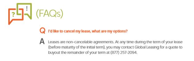 FDGL lease buyout