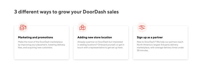 DoorDash growth