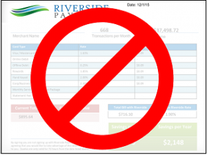 Riverside Payments quote comparison