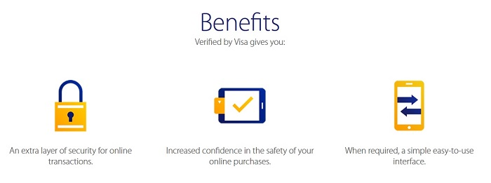 Verified by Visa benefits