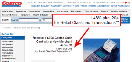 Costco Tiered Pricing Example